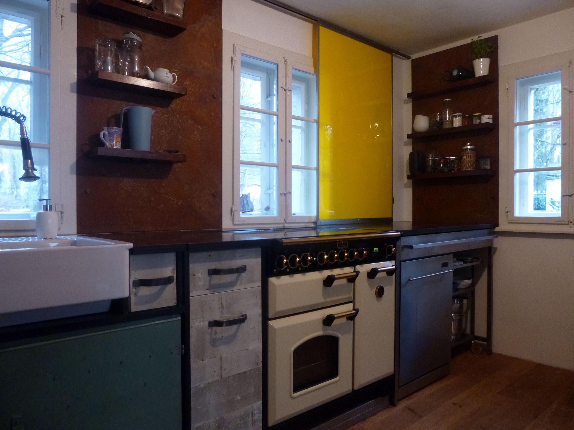 Küchenzeile Idee ~ küche 02 idee+werk